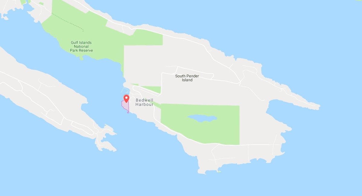 Tsawout Reserve Lands Pender Island